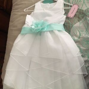 White child's dress